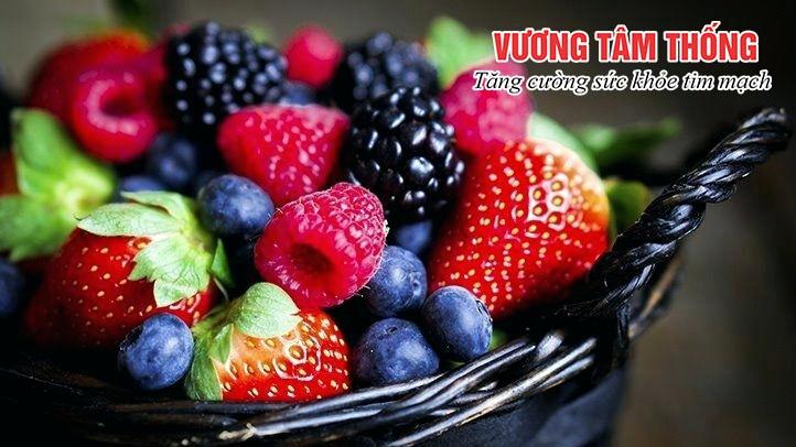 Trái cây tươi rất tốt cho người bị máu nhiễm mỡ